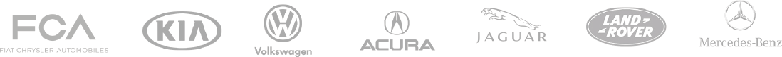 Foureyes Tap is certified for the following programs: FCA, Kia, Volkswagen, Acura, Jaguar, Land Rover, and Mercedes-Benz